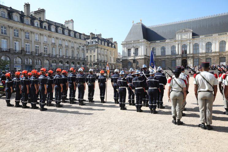 Les sapeurs-pompiers célèbrent le 14 juillet