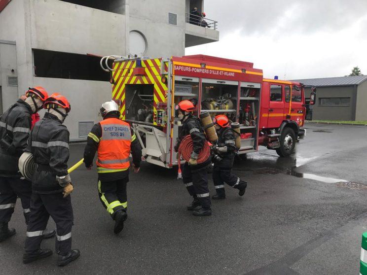 L'édition 2021 du Brevet de jeune sapeur-pompier s'achève aujourd'hui
